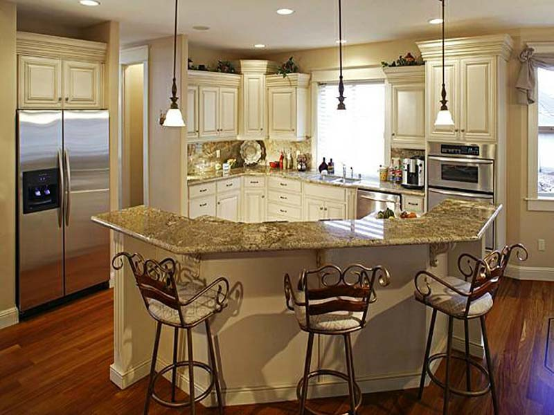 Exceptionnel Angled Kitchen Island Ideas Brilliant Angled Kitchen Island Ideas E With  Design Decorating